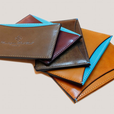 Leather-wallets-patina-hand-colouring-crust-leather-mto-made-to-order-Dominique-Saint-Paul-Saigon-Ho-Chi-Minh-City-Vietnam