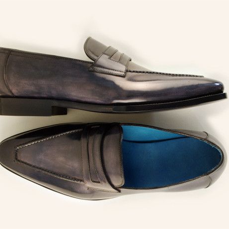 Alex-loafers-patina-hand-coloured-dress-shoes-Goodyear-welted-leather-soles-Dominique-Saint-Paul-Saigon-Ho-Chi-Minh-City-Vietnam