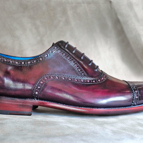 MTO-half-brogues-made-to-order-shoes-Goodyear-welted-hand-coloured-patina-Dominique-Saint-Paul-Saigon-Ho-Chi-Minh-City-Vietnam