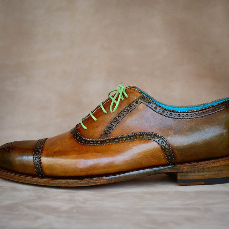 Patina-half-brogue-shoes-hand-coloured-Dominique-Saint-Paul-Saigon-Ho-Chi-Minh-City-Vietnam-Goodyear-welted