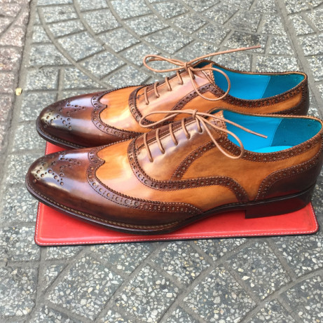 Dominique-Saint-Paul-full-brogue-mens-shoes-Goodyear-welted-made-Saigon-HoChiMinh-City-Vietnam
