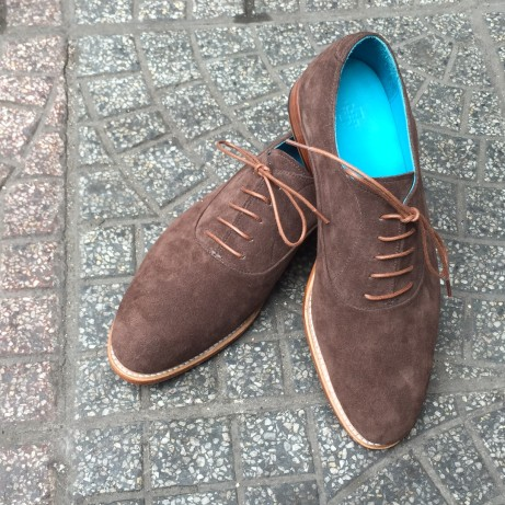 Dominique-Saint-Paul-classic-Oxford-shoes-suede-Saigon-Hochiminh-City-Vietnam-Goodyear-welted