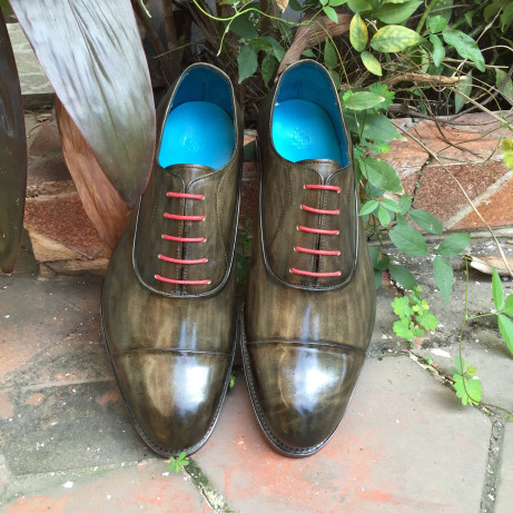 Classic-Oxfords-Goodyear-welted-Dominique-Saint-Paul-Saigon-Ho-Chi-Minh-City-Vietnam-patina-hand-coloured