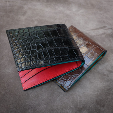 Dominique-Saint-Paul-wallet-crocodile-leather-made-to-order-special-edition