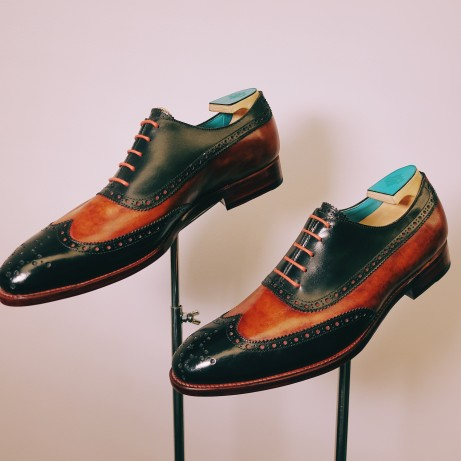 Dominique-Saint-Paul-correspondent-full-brogue-shoes-goodyear-hand-coloured-patina