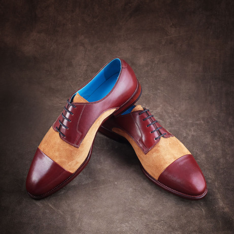 Dominique-Saint-Paul-derby-suede-shoes-RTW-ready-to-wear-Ho-Chi-Minh-City-Vietnam-Goodyear-welted