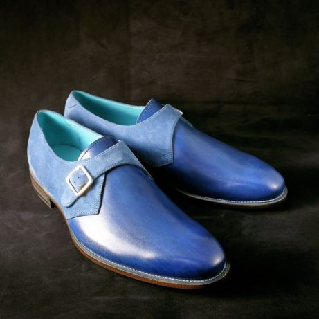 blue-single-monks-shoes-dominique-saint-paul-Saigon-dapper-elegant-style