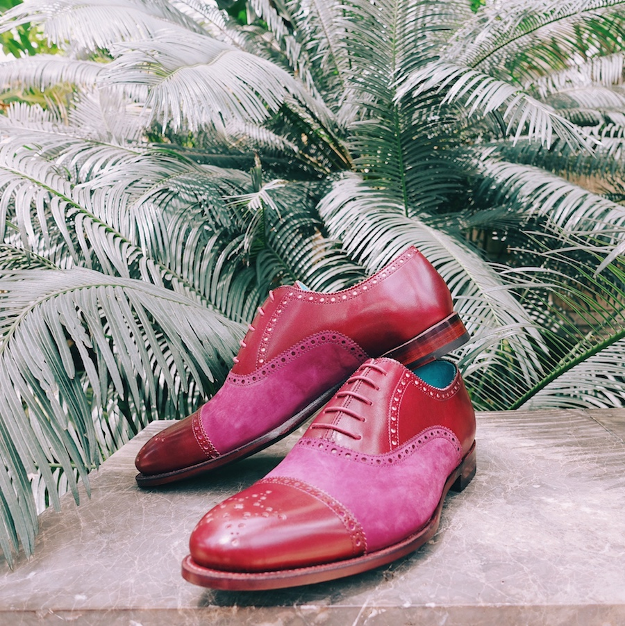 Oxford-leather-brogue-dress-shoes-suede-Dominique-Saint-Paul-Saigon-Ho-Chi-Minh-City-Vietnam-patina-Goodyear-welted-hand-coloured