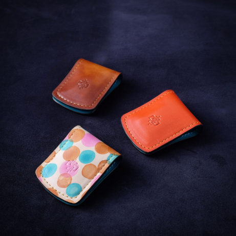 Leather-money-clips-Dominique-Saint-Paul-Saigon-Ho-Chi-Minh-City-Vietnam-gift-gifts-Christmas-patina-hand-coloured