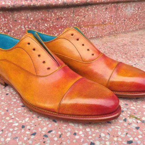 Dominique-saint-paul-classic-oxford-leather-mens-shoes-patina-hand-coloured-Goodyear-welted-Saigon-Ho Chi Minh City-Vietnam
