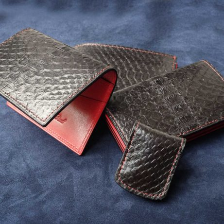 dominique-saint-paul-python-skin-leather-set-wallet-money-clip-card-holder-Saigon-Vietnam-Ho-Chi-Minh-City