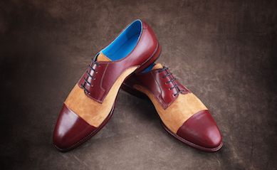 Many styles of shoes form Dominique Saint Paul including wing tips and monk shoes